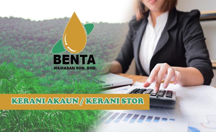 Iklan Kerja Kosong Sabah 2020   Kerani Akaun & Kerani Stor ...